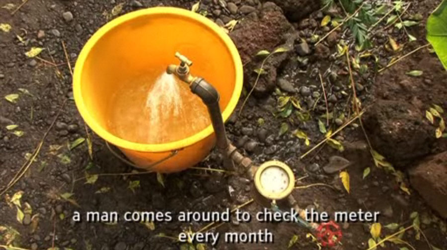 Screenshot of Water in Ethiopia: three activities for students