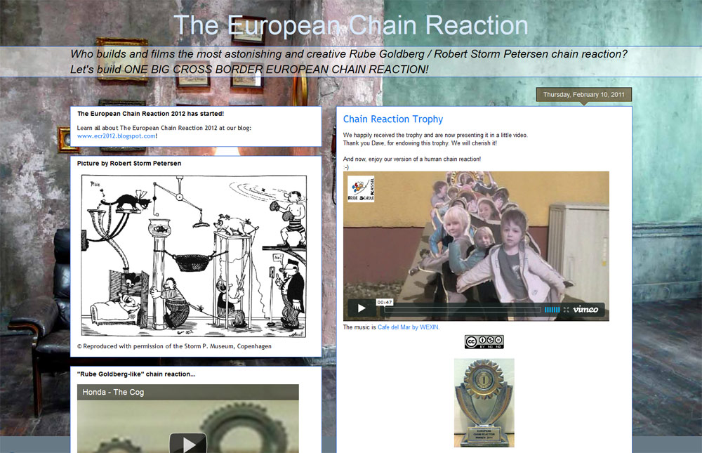 Screenshot of The European Chain Reaction