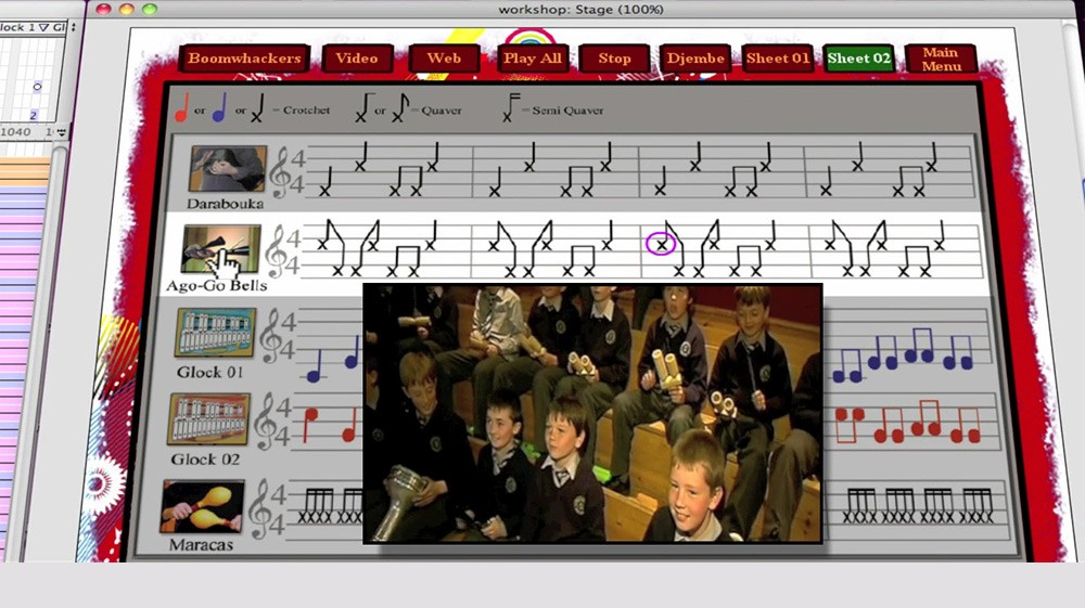Screenshot of Simply Music - Technology Inspired Music in Education Workshops