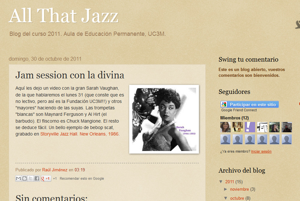 Screenshot of All that Jazz