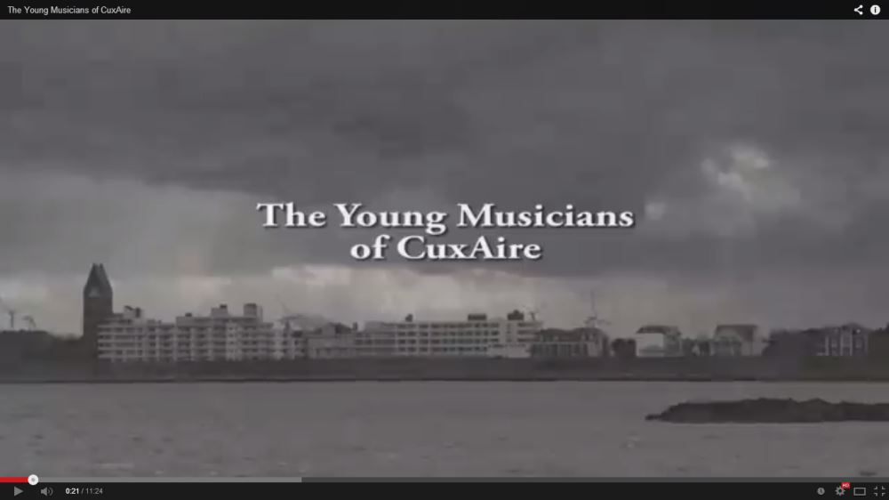 Screenshot of The Young Musicians of Cuxaire