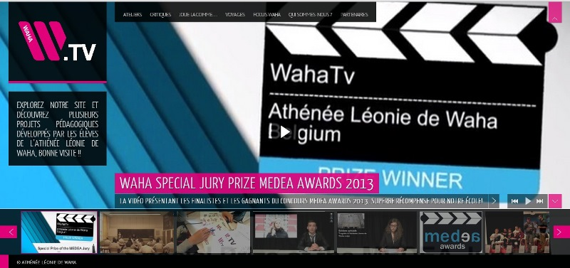 Screenshot of WahaTv