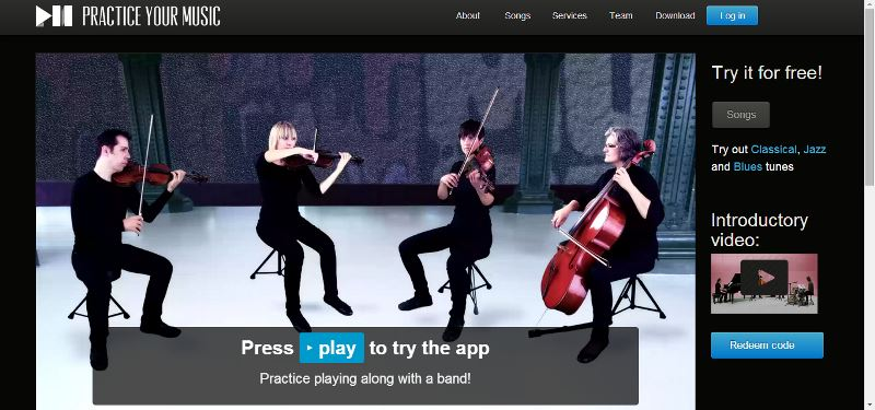 Screenshot of Practice Your Music
